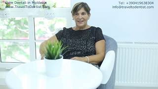 Dental implants in Moldova – Rosangela's experience