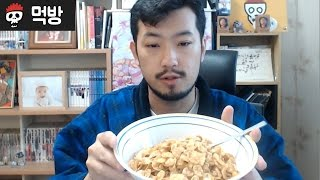 【ChimchakMan】 Frosted Flaked 5 servings Mukbang (crunchy vs soggy debate finalized)