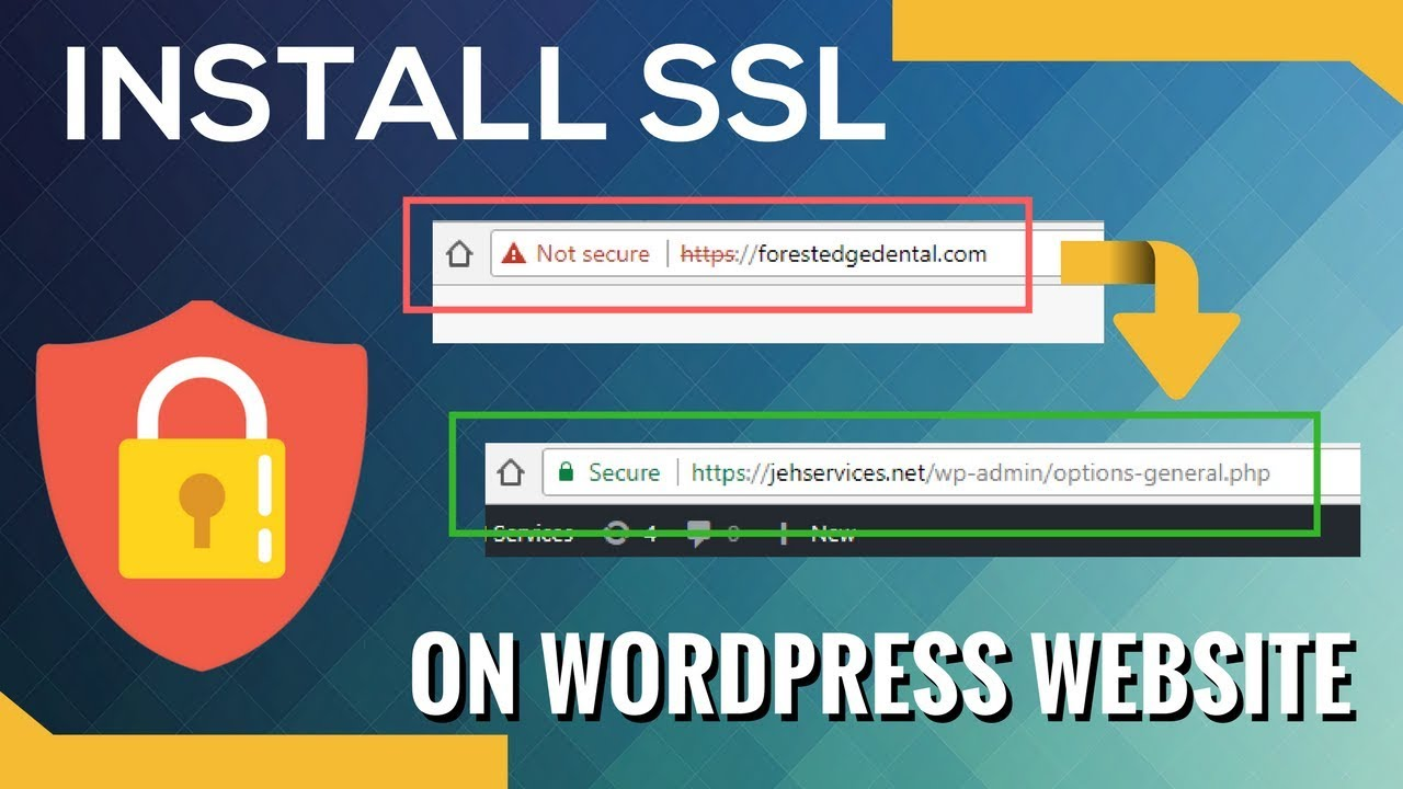 Ssl On Wordpress How I Activate Https On Wordpress Sites No