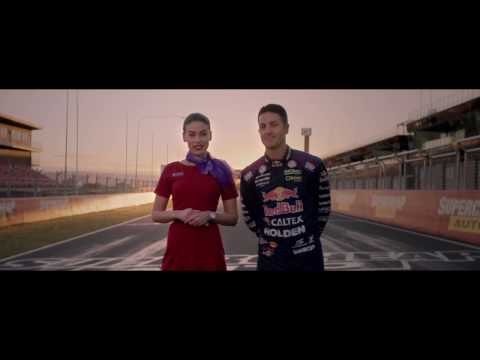 Safety & Supercars - Virgin Australia safety video