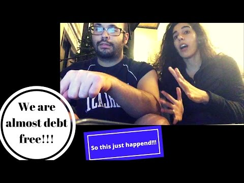 We are almost debt free | We clicked the button!!