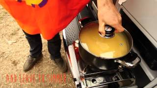 Satay Pumpkin Soup - Warmth On The Road