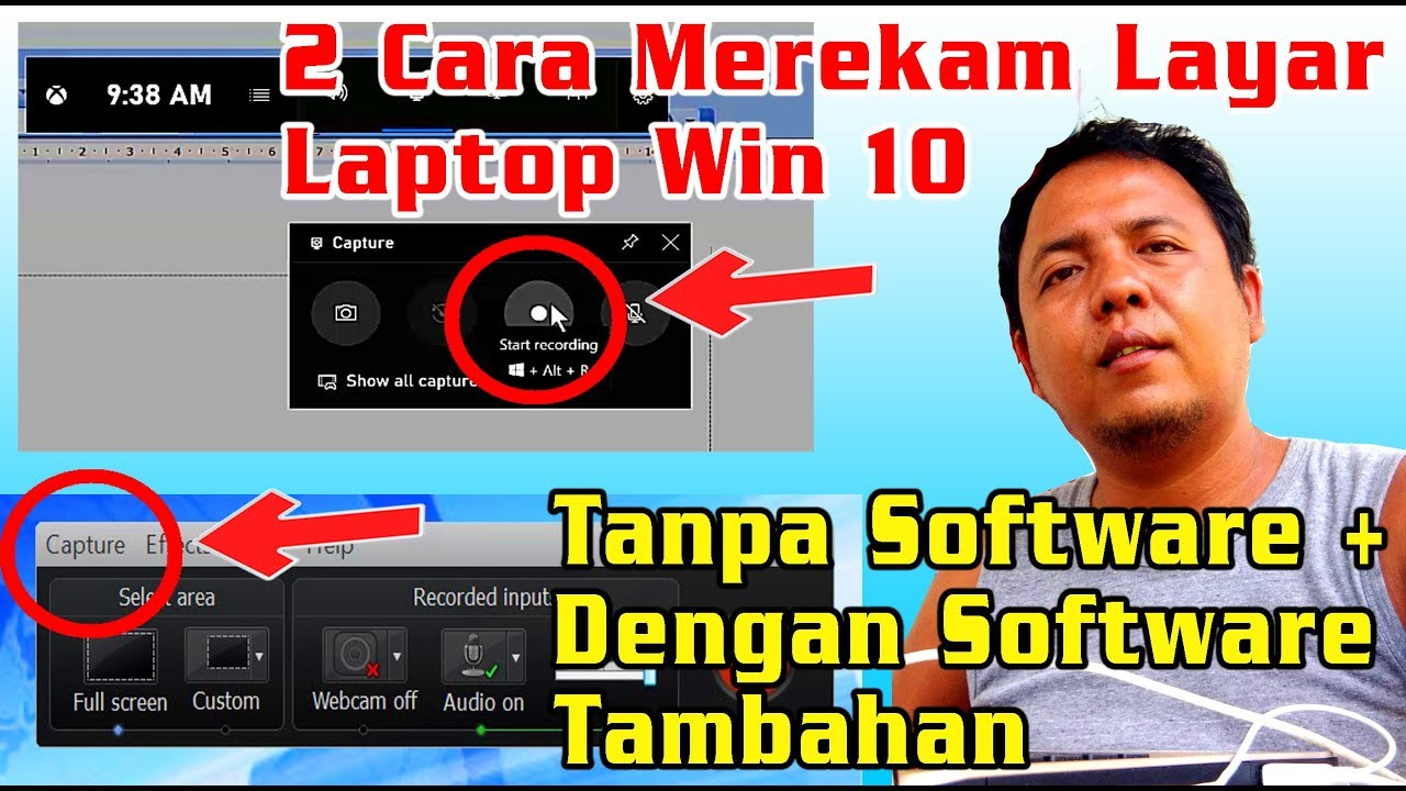 Cara Merekam Layar Laptop Windows 10 Update