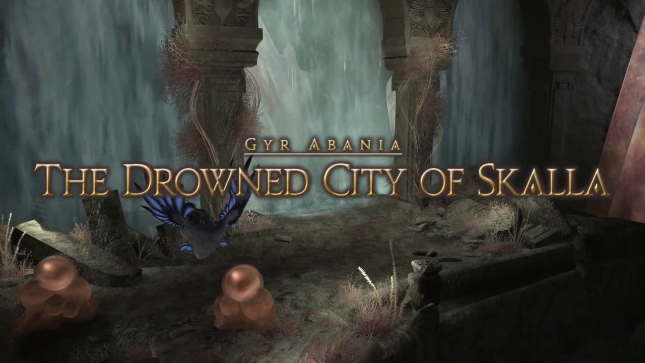 The Drowned City of Skalla - Final Fantasy XIV A Realm