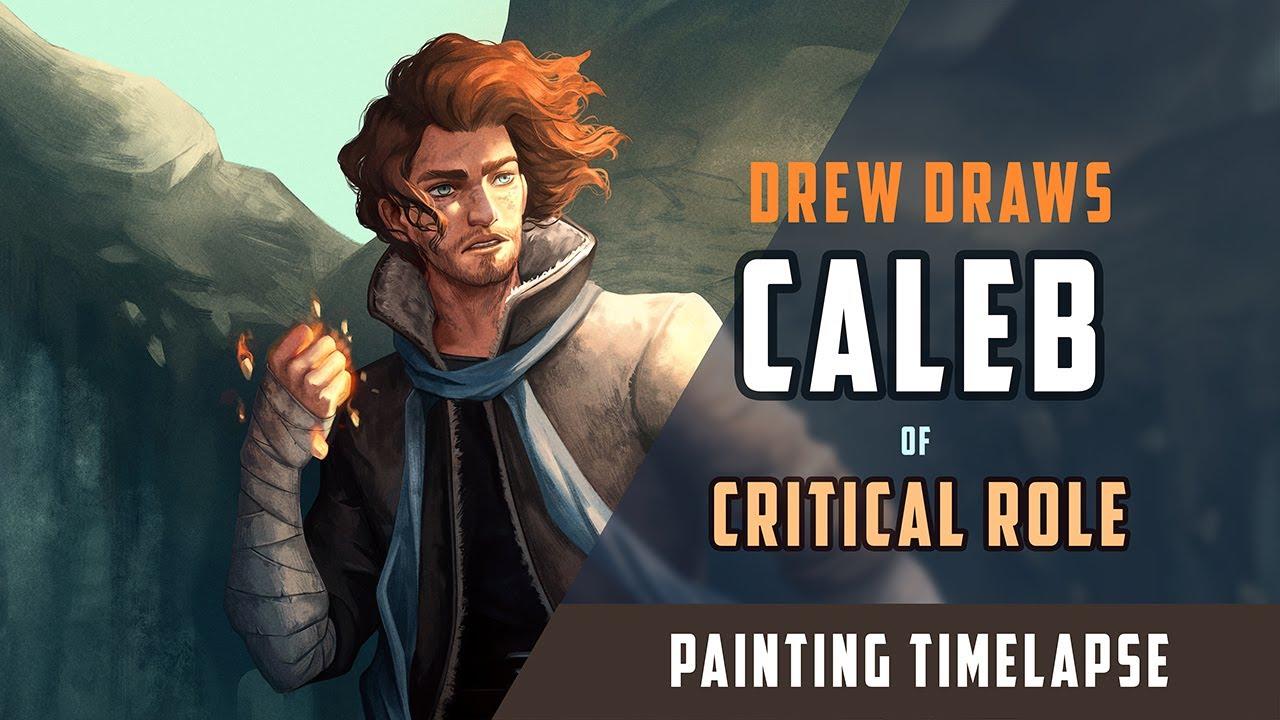 Artstation Critical Role Fanart Caleb Widogast Andrew Soman Twenty (20) books zero (0) gold two (2). artstation critical role fanart