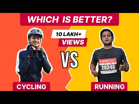 Cycling vs Running | Which one is better?