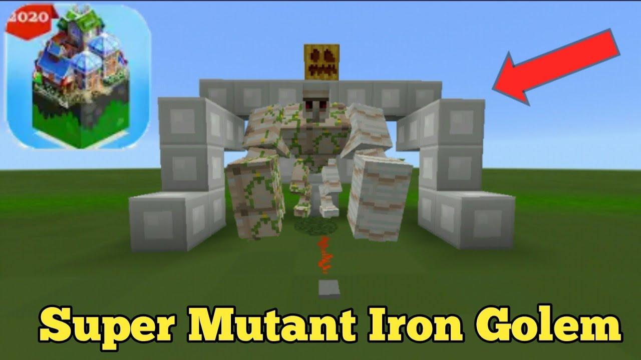 Download How to Spawn Super Mutant Iron Golem in Mastercraft - Cómo generar un gólem de hierro supermutante
