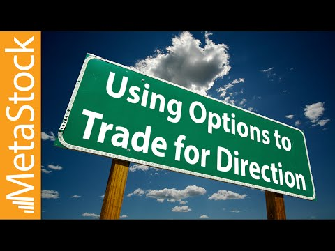 Using Options to Trade for Direction