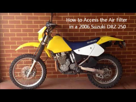 suzuki drz250 - YouTube