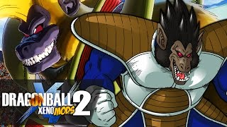 The TRUE Great Ape Festival!! 2v2 GREAT APES VS GREAT APES?! | Dragon Ball Xenoverse 2 MODS