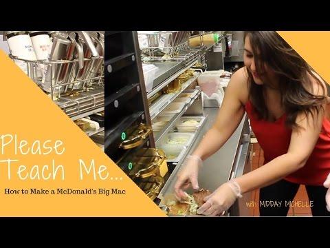 How To Make A Monald&39;s Big Mac