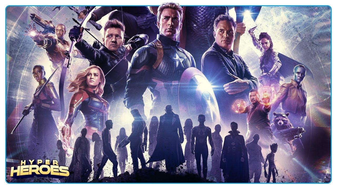 Avengers Endgame Re Release Poster