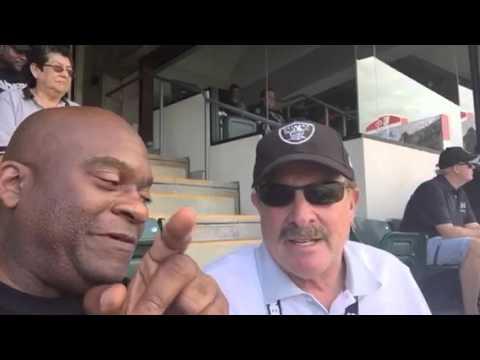 Raiders Fans Going Nuts Oakland Scores! #NYJvsOAK - Zennie62