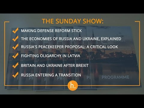 The Sunday Show At The Riga Conference