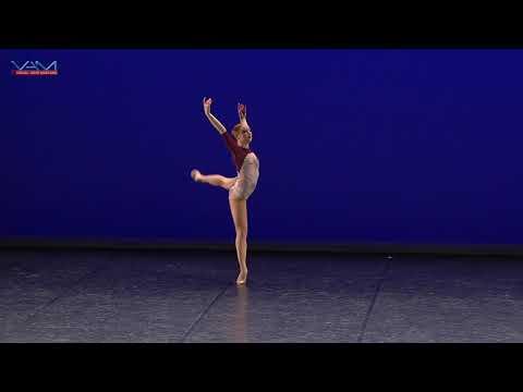 YAGP2018 Paris Top 12, Emilia Hofmann Contemporary solo, Virevoltante