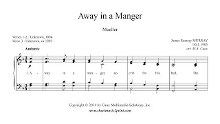 Murray : Away in a Manger - Piano
