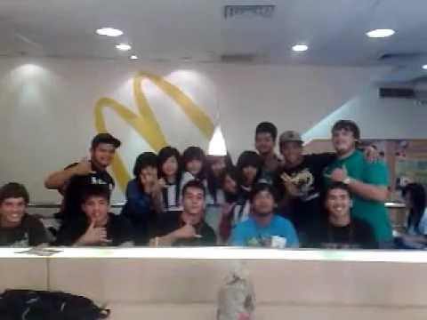 Guam U-18 RUGBY team takin pics with some girls,it was on VIDEO mode DOM..