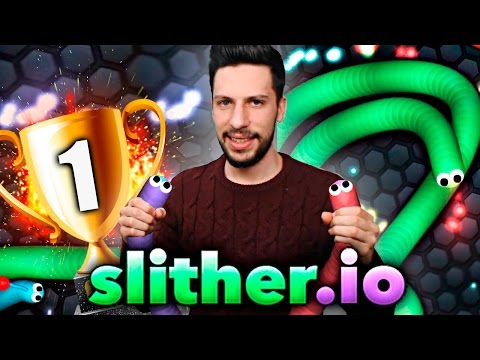 SLITHER.IO - LLEGO al TOP 1 en Slither.io | Zoko