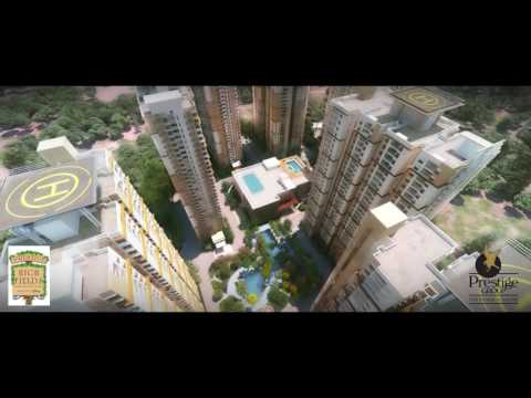 Prestige High Fields- Disney Themed Residential Development in Hyderabad