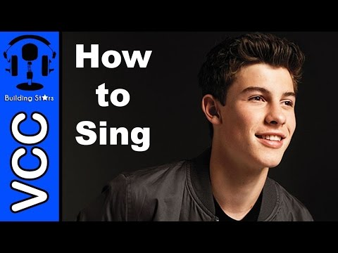 How to sing Stitches by Shawn Mendes