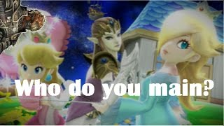 Super Smash Bros for 3DS/WiiU - Advice on Choosing a Main Character