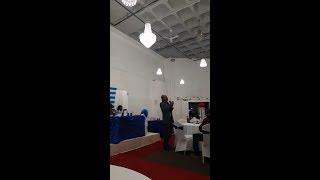 Hon Joseph Wirba Make A Live Speech in United Kingdom on Anglophone Crisis! Watch