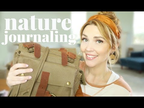 How We Do Nature Notebooking + What We Use!