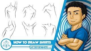 Como Desenhar Camisas + Apostila VCdesenhos - Patreon