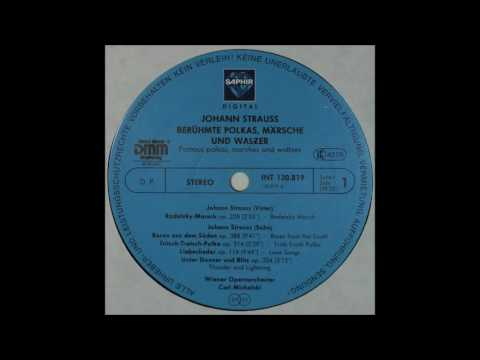 Johann Strauss, Beruhmte Polkas, Marsche Und Walzer, side 1