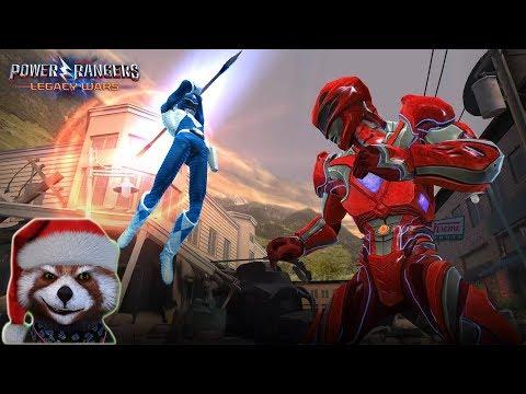 Siêu Nhân Nhí chơi game POWER RANGER Legace Wars 3D Cực Vui