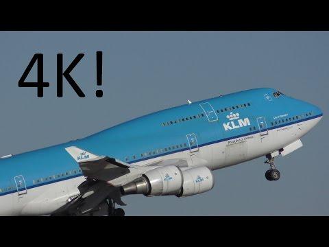 4K (UHD) Planespotting at Houston (IAH)