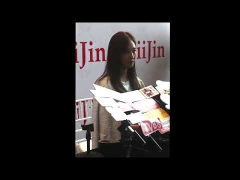 150128 SNSD Yuri (interview) @ iiJin fashion show Hong Kong