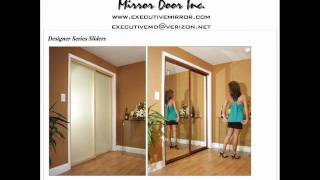 Mirror Doors, Closet Doors, Wardrobe Doors, By Executive Mirror
