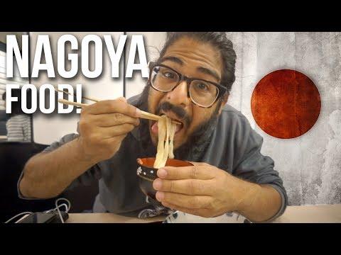 NAGOYA JAPANESE FOOD TOUR! - Trying Nagoya food!