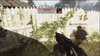 Modern Warfare 2 Tricks: Overgrown Fence And Building *new Maps*