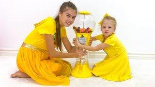 ناستيا وستايسي يصنعان الحلويات للأب