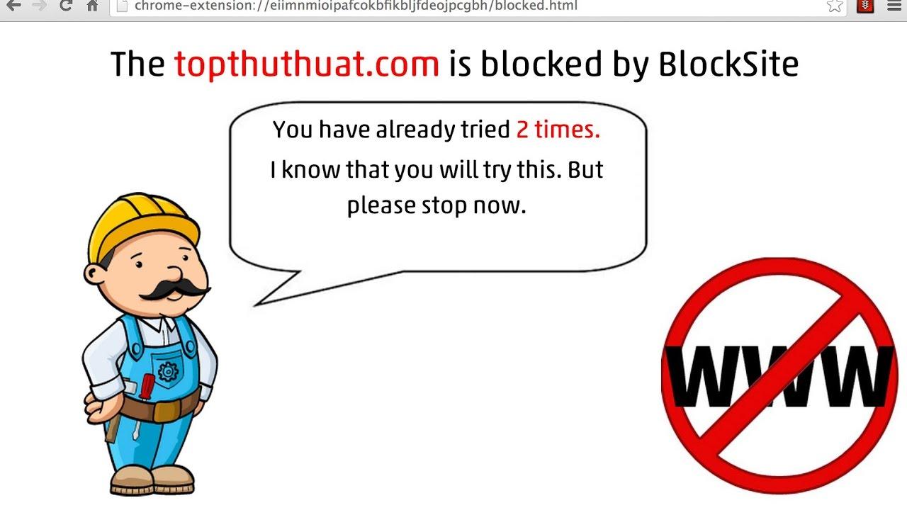 Hướng dẫn chặn trang Web trên Cốc Cốc hoặc Google Chrome