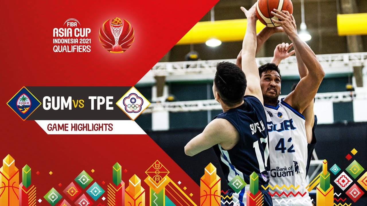 Guam - Chinese Taipei | Highlights - FIBA Asia Cup 2021 Qualifiers