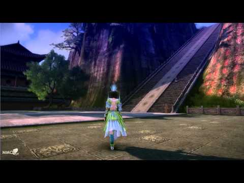Age of Wulin Shaolin temple inside Gameplay – MMO HD TV (1080p)