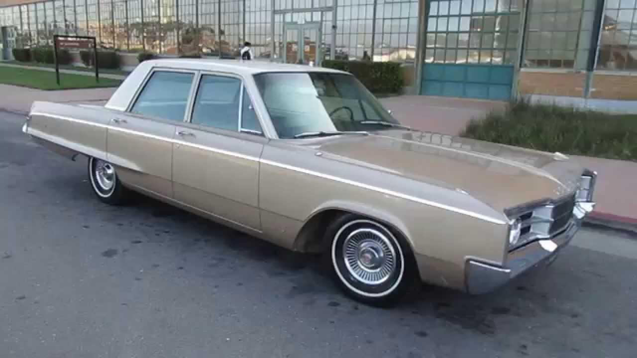 1967 Dodge Polara 383 Walkaround - YouTube