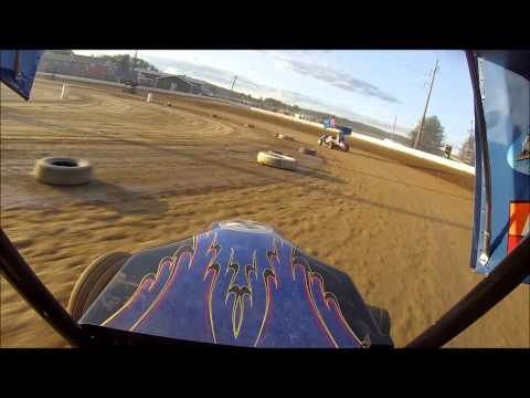 Greenwood Valley Action Tracks Rookie Micro Practice 8-24-13 Alyssa Riker #00