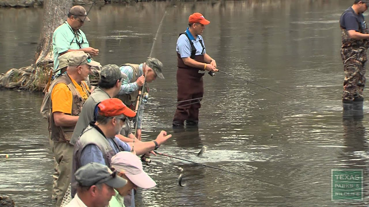 Winter Trout Stocking on the Guadalupe River- Texas Parks and Wildlife  [Official]