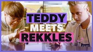 Teddy Meets Rekkles | T1 at Worlds 2019