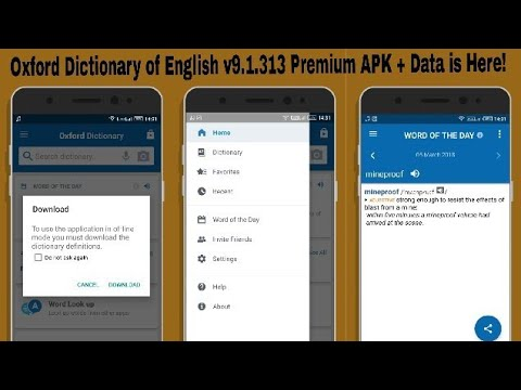 download full oxford dictionary apk