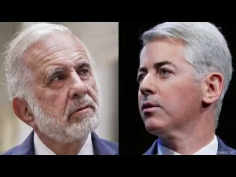 "Carl Icahn vs Bill Ackman - Short squeeze - the downside of shorting ""Betting on Zero"""