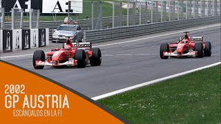 Escándalos en la F1 - Austria 2002 | Efeuno