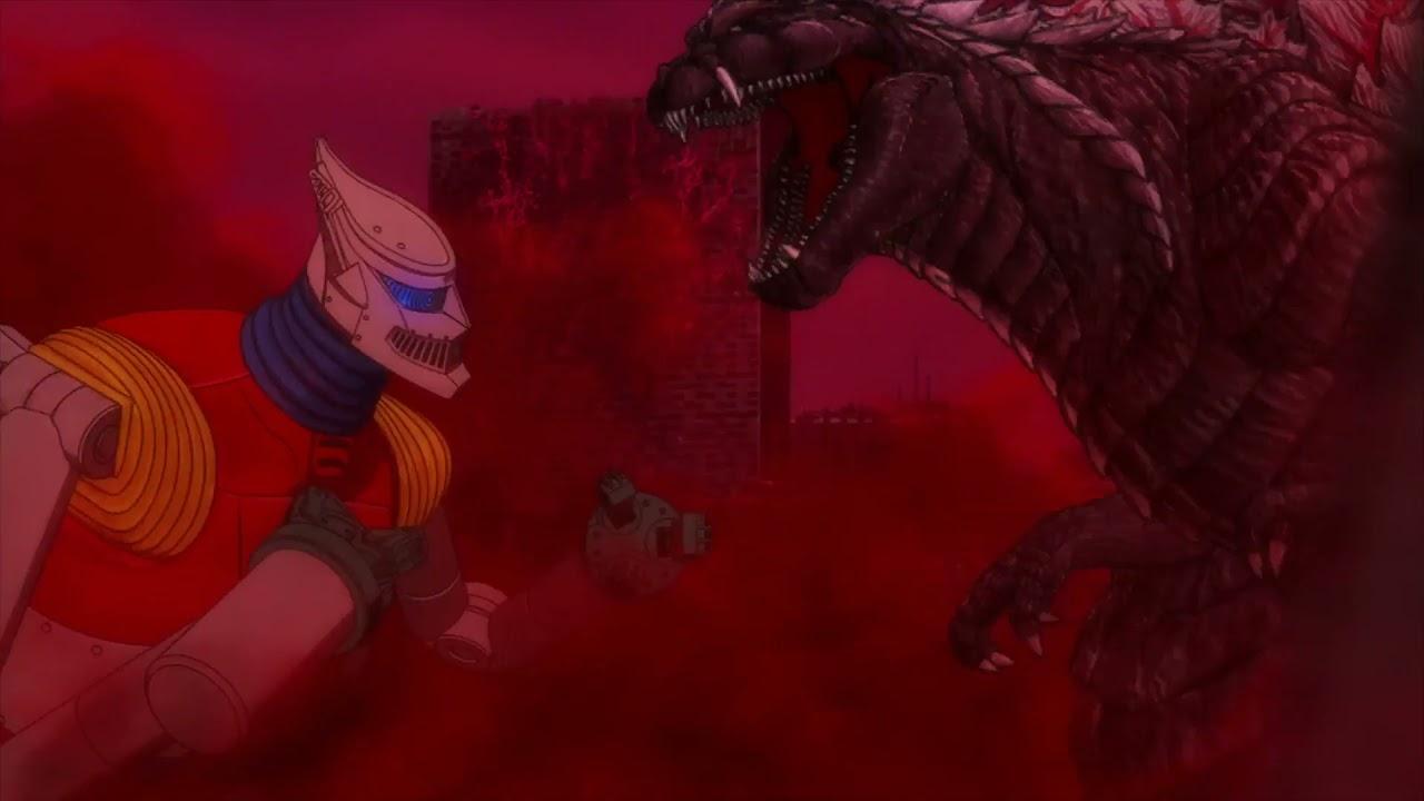 Godzilla Singular Point: Godzilla Ultima confronts Jet Jaguar