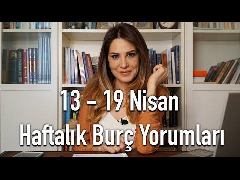 13 - 19 Nisan Haftalık Burç Yorumları Hande Kazanova ile Astroloji