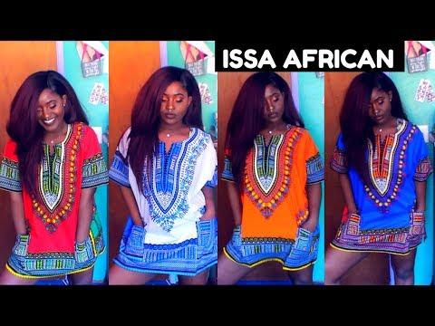 ISSA AFRICAN CLOTHING LOOKBOOK