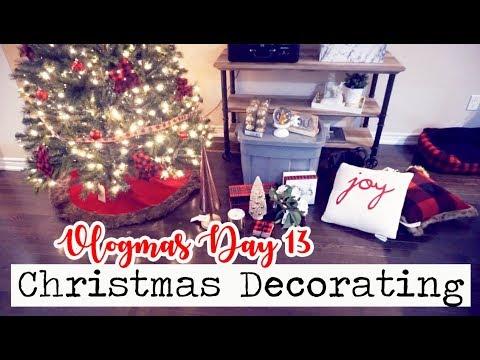 THE ULTIMATE CHRISTMAS DECORATING VLOG! || Vlogmas Day 13